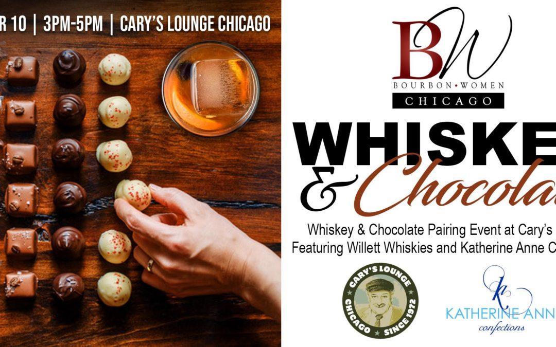 Bourbon Women Chicago – Whiskey & Chocolate Pairing Event