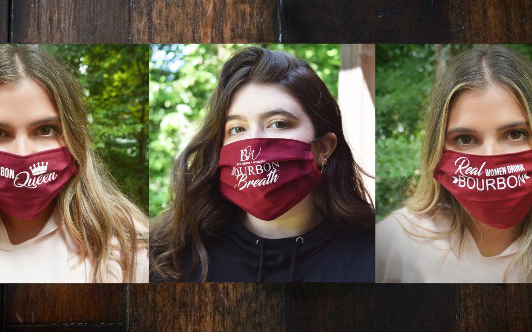 NEW – Bourbon Women Face Masks