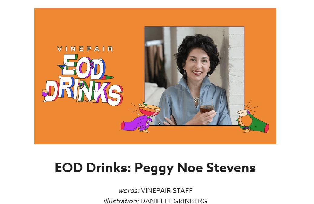 Founder Peggy Noe Stevens Featured On VinePair
