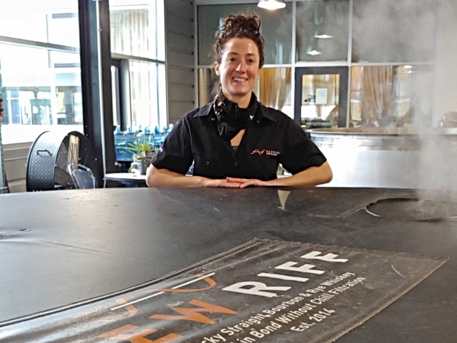 Meet The Makers: Assistant Distiller Stephanie Batty At New Riff