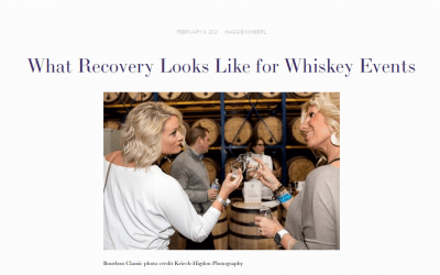 Alcohol Professor: What Recovery Looks Like for Whiskey Events