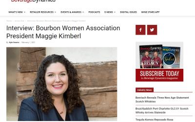 Beverage Dynamics: Interview: Bourbon Women Association President Maggie Kimberl