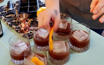 Chocolate and Spice and Everything Nice: Bourbon Ball Cocktail