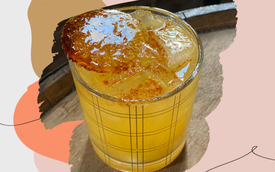 Honorable Mention Cocktails: Smoke Justis Mango Madness